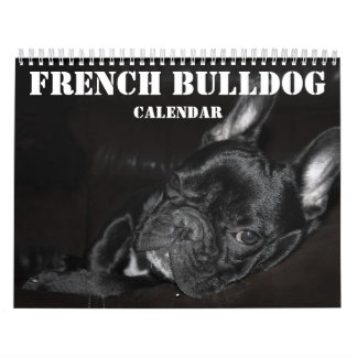 French Bulldog Calendar 2016 Personalized Photos