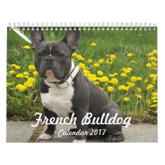 French Bulldog Calendar 2017 Add Your Photos