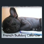 """French Bulldog Calendar 2018 Personalized<br><div class=""""desc"""">French bulldog calendar 2018 with custom photos of your dog or puppy and custom text on the cover page. You can also change calendar style - there are 16 styles like classic frameless, grid or squares, large numbers, for kids... You can choose wire color too, there are different options like...</div>"""
