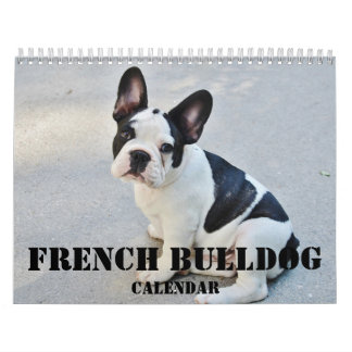 French Bulldog Calendar 2018 Your Custom Photos