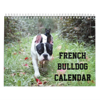 French Bulldog Calendar Add Your Photos