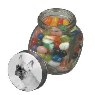 French Bulldog Jelly Belly Candy Jar
