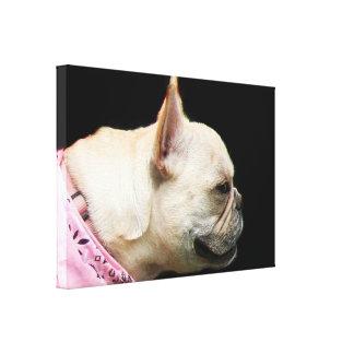French Bulldog Canvas Art print