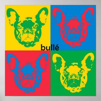 French Bulldog canvas Poster