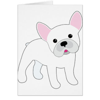 French Bulldog Card