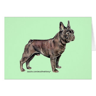 French Bulldog! Card