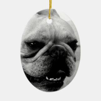 French Bulldog Ceramic Ornament