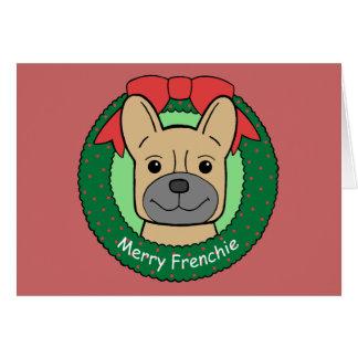 French Bulldog Christmas Card