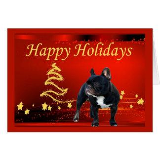 Bulldog Christmas Cards - Invitations, Greeting & Photo Cards   Zazzle