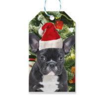 French Bulldog Christmas Tree Ornaments Snowman Gift Tags