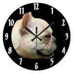 French Bulldog Clock