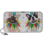 French Bulldog Clown - Support French Bulldog Club Notebook Speakers