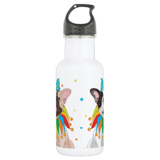 French Bulldog Clown - Support French Bulldog Club Stainless Steel Water Bottle