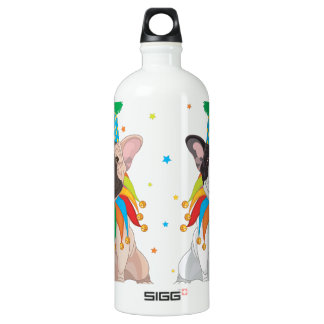 French Bulldog Clown - Support French Bulldog Club Water Bottle