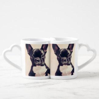 French bulldog couples coffee mug