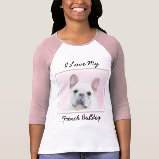 French Bulldog (Cream/White) T-Shirt