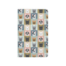 French Bulldog cute notebook frenchie dog person