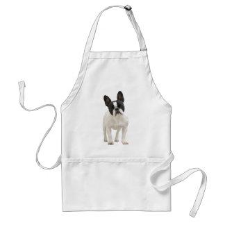 French Bulldog cute photo apron, gift idea Adult Apron