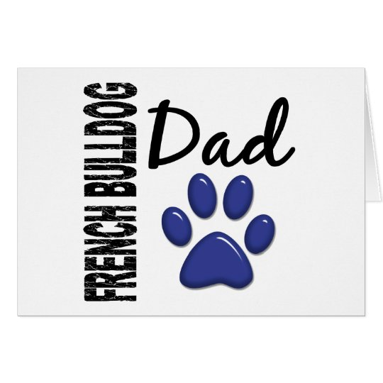 French Bulldog Dad 2 Card