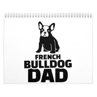 French Bulldog Dad Calendar