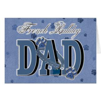 French Bulldog DAD Card