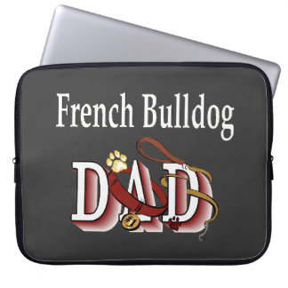 French Bulldog Dad Computer Sleeve