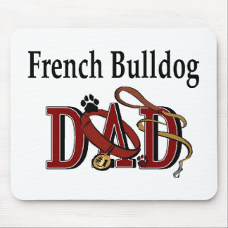 French Bulldog Dad Gifts Mouse Pad