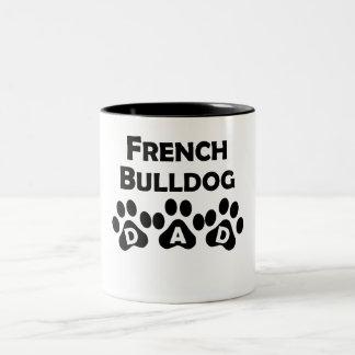 French Bulldog Dad Coffee Mugs