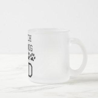 French Bulldog Dad 10 Oz Frosted Glass Coffee Mug