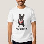 French Bulldog dad photo custom mens t-shirt