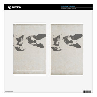 French Bulldog Decals For Kindle Fire