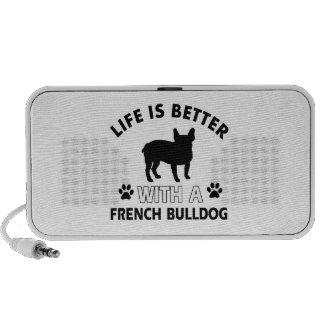 French Bulldog designs Portable Speaker