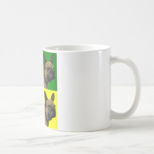 French Bulldog Does Primary Coffee Mugs