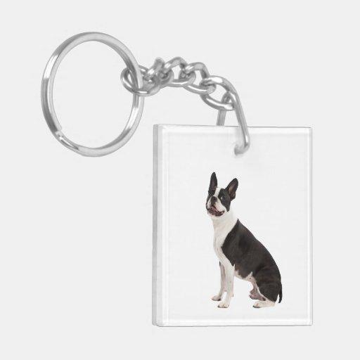 French Bulldog dog beautiful photo keychain, gift Acrylic Key Chains