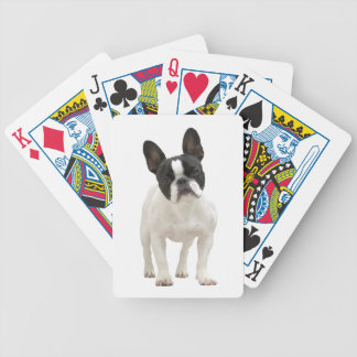 French Bulldog dog beautiful photo portrait, gift Bicycle Playing Cards