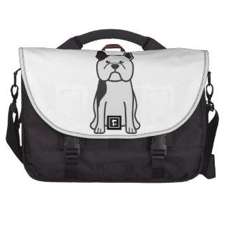 French Bulldog Dog Cartoon Laptop Commuter Bag