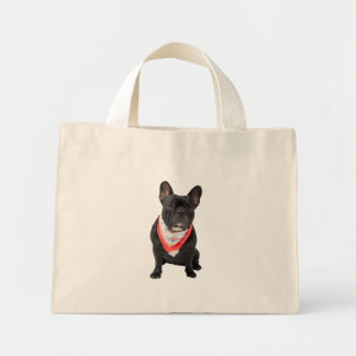 French Bulldog,  dog cute beautiful photo, gift Canvas Bags