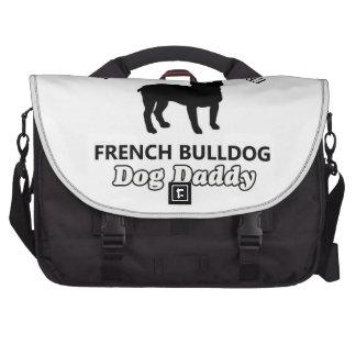 French Bulldog Dog Daddy Laptop Commuter Bag