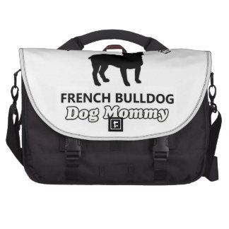 French Bulldog dog designs Bag For Laptop