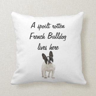 French Bulldog dog photo cushion pillow