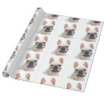 French Bulldog dog wrapping paper