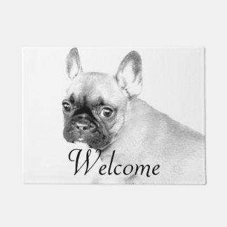 French Bulldog door mat
