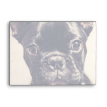 French Bulldog Envelope