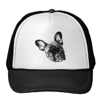 French Bulldog Face Hat
