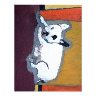 French Bulldog Fauve Painting Letterhead