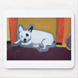 French Bulldog Fauve Painting Mouse Pad