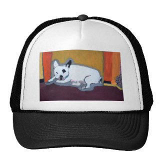 French Bulldog Fauve Painting Trucker Hat