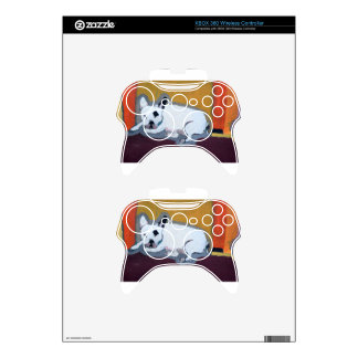 French Bulldog Fauve Painting Xbox 360 Controller Skin