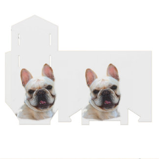 French Bulldog Favor Box