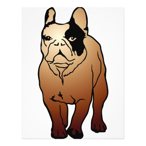French Bulldog Flyer Design